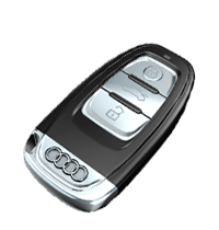 Llave de Audi