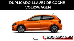 Copia llaves de coche Volkswagen Polo