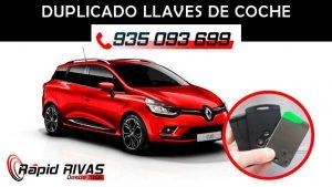 Copia llaves Renault Clio