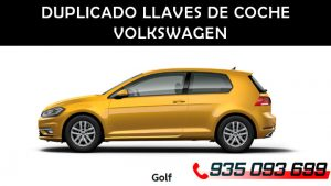 Copia llaves Golf