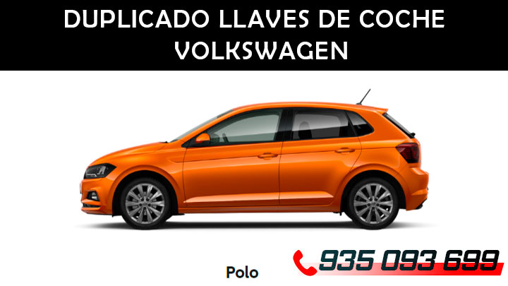 Copia llaves de coche Volkswagen Polo