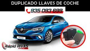 Copia llaves Renault Megane