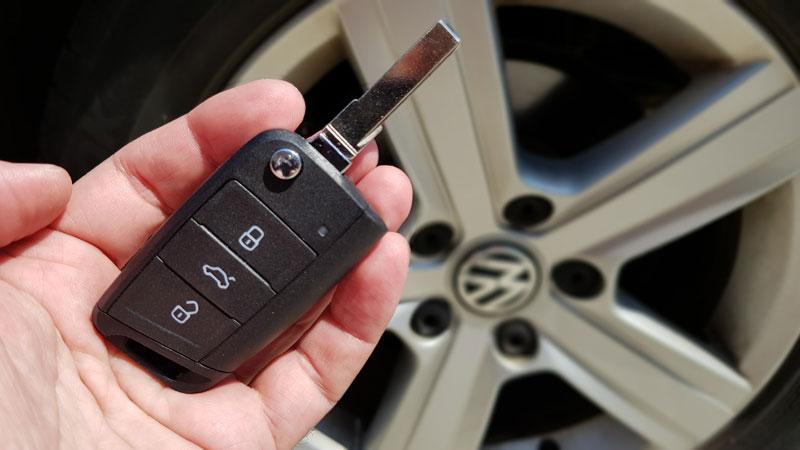 copia de llaves Volkswagen eléctrico